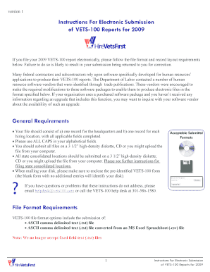 2013 Vets 100 Form Fillable Online - Fill Online, Printable ...