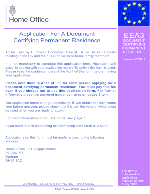 Eea3 - Fill Online, Printable, Fillable, Blank | PDFfiller Application Form Eea on application to rent california, application meaning in science, application error, application submitted, application for rental, application for employment, application service provider, application template, application cartoon, application insights, application to join motorcycle club, application database diagram, application clip art, application for scholarship sample, application in spanish, application approved, application to be my boyfriend, application to date my son, application to join a club, application trial,