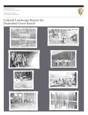 Cultural Landscape Report for Drakesbad Guest Ranch - nps