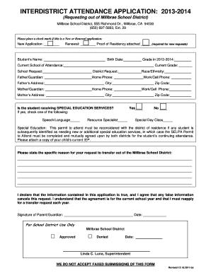 Intertranfering Form - Fill Online, Printable, Fillable, Blank ...