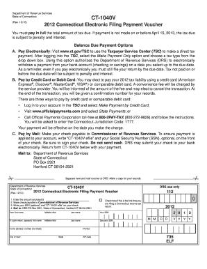 Ct 1040v Fill Online Printable Fillable Blank Pdffiller