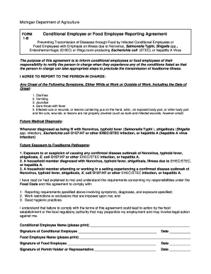conditional employee form