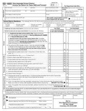 Sd 100x 2013 - Fill Online, Printable, Fillable, Blank | PDFfiller