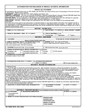 Dd Form 2870 - Fill Online, Printable, Fillable, Blank | PDFfiller