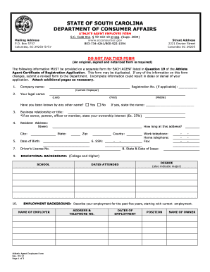 Gl3802b fill online printable fillable blank pdffiller - Office of the consumer protection board ...