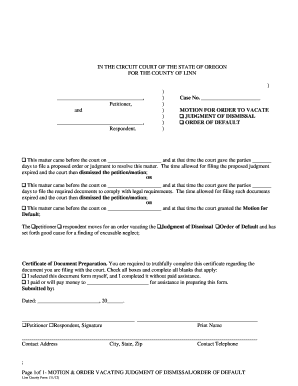 Bill Of Sale Form Oregon Declaration In Support Of Motion For ...