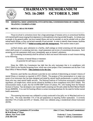 Mental Hygiene Law 945 Form - Fill Online, Printable, Fillable ...