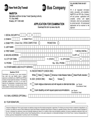 typeable mta bus company certificate fill online printable