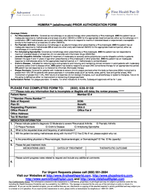 cigna humira prior authorization form