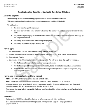 15 Printable Ssi Benefits For Children Forms And Templates