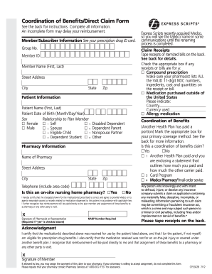 Express Scripts Forms Fill Online Printable Fillable Blank