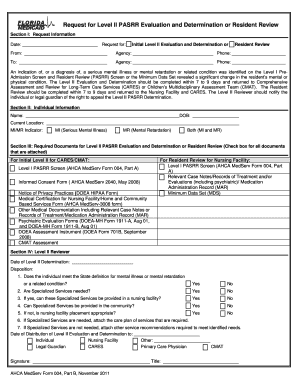 treatment administration record sample form