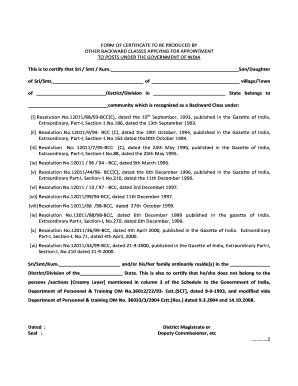 obc form download