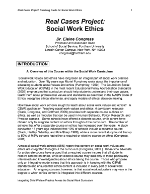 examples of ethical dilemmas in social work