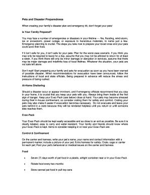 Disaster preparedness pdf file, information about tsunami in