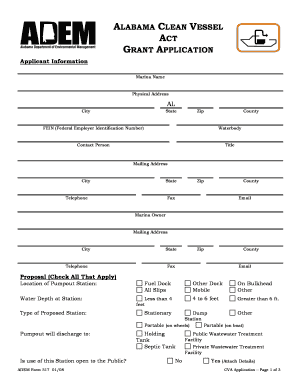 Printable cleaning service proposal with checklist fill out alabama clean vessel thecheapjerseys Images