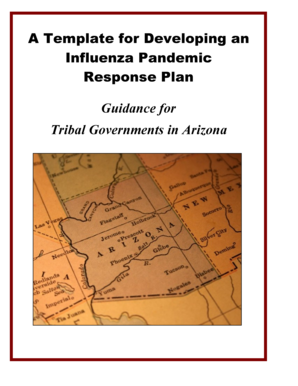 A Template for Developing an Influenza Pandemic Response Plan ...