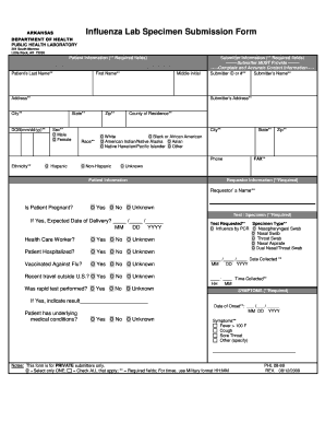 Submission Form - Arkansas Department of Health - healthy arkansas