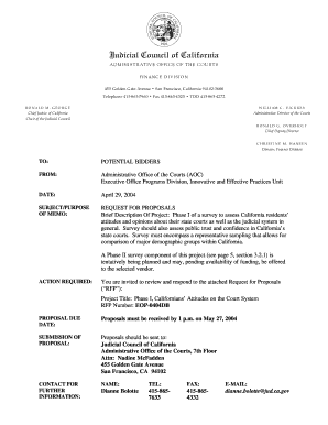 California Employment Separation Agreement Template. Entire RFP In Adobe  Acrobat PDF Format   California Courts   State .