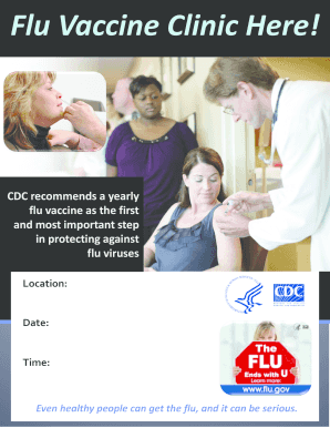Flu Vaccine Businesses Letter
