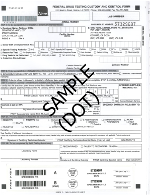 Federal Custody And Control Form Electronic - Fill Online ...