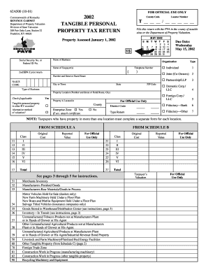 Kentucky Department Of Revenue Tangible Personal Property
