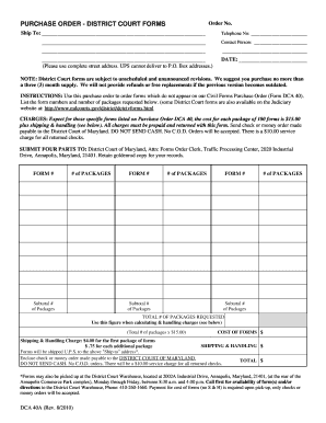 Printable purchase order letter format - Edit, Fill Out & Download