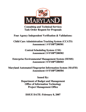 DPSCS MAFIS - Department of Information Technology - Maryland.gov