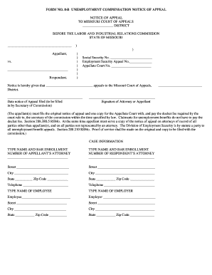 Fillable Online courts mo Form No. 8-B effective 01-01-05.pdf - courts mo Fax Email Print