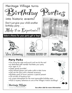 HV B-day Party Flyer - Pinellas County - pinellascounty