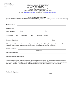 Editable montana contractor license number - Fill, Print