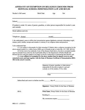 Bill Of Sale Form Montana Affidavit Of Service Form Templates ...