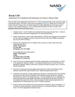 Form u10 pdf