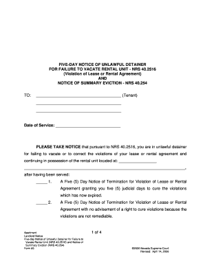 Printable Free Vacation Rental Lease Agreement Fill Out