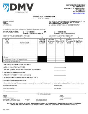 Cng dealer near 55441 fill online printable fillable for Nevada motor carrier division