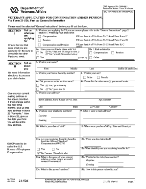 Forms 21 526 - Fill Online, Printable, Fillable, Blank | PDFfiller