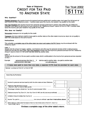Fillable Online tax ok Delaware Form 200-02 Nr - Delaware Tax ...