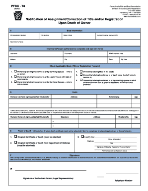 Fillable Online fish state pa Form PFBC-T8 - Pennsylvania Fish and ...
