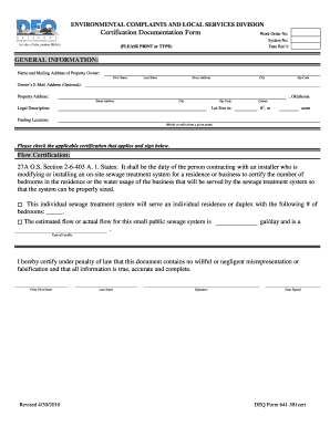 get the oklahoma deq 641 form