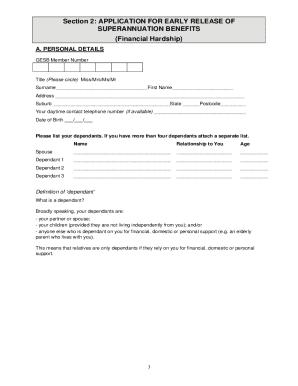 financial hardship letter for school