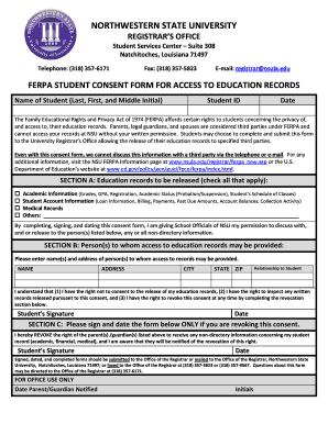 ferpa form boston university  Umass Dartmouth Ferpa Form - Fill Online, Printable ...
