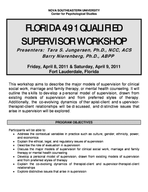 FLORIDA 491 QUALIFIED