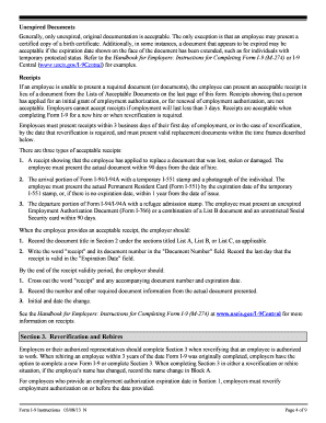 Department of Homeland Security Form I-9 document - Southern ... - spsu