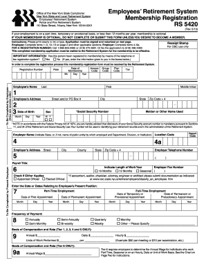 rs 5420 form