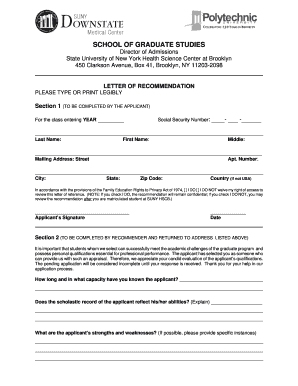 Letter of recommendation for teacher of the year forms and templates suny downstate volunteer department form altavistaventures Images