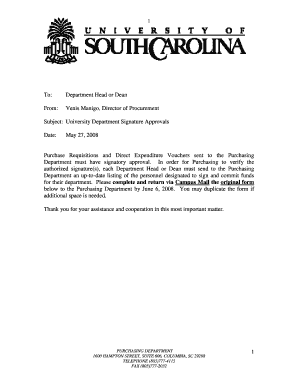 Approval Signatures Memo Form.pdf - Purchasing Department