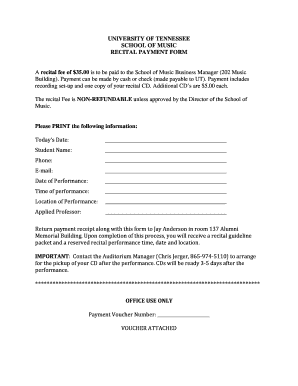 Printable music performance contract template - Edit, Fill Out ...