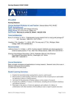 Fillable Online uta Classroom Management Module 1 - uta Fax