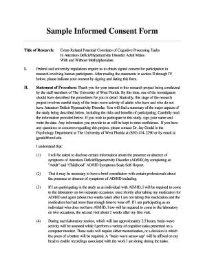 Informed consent essay