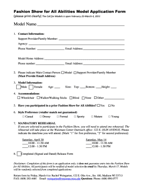model agency contract pdf to Download in Word & PDF